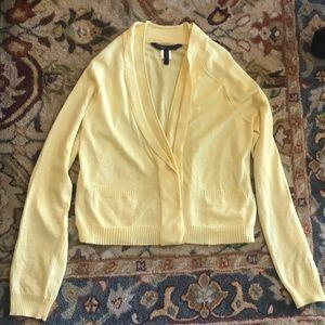 Bcbg 100% merino wool cardigan sweater